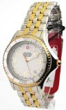 Mens Wenger Swiss Military Steel Avalanche Two Tone Date Watch 79085