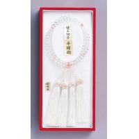 Sakura Color Izumo province temple UN-32 new crystal rosary (2 stations) (030252) 6430u (japan import)