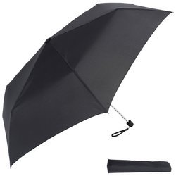 "All-Weather 42"" Slim Folding Umbrella , 42In Slim Folding Umbrella Blk front-494386"