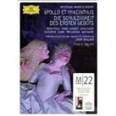 モーツァルト:《アポロとヒュアキントゥス》/《第一戒律の責務》 [DVD]