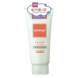 ナチュルゴ 天然クレイ顆粒洗顔フォーム 120g