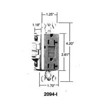 Buy 2 Pack of 2095ICC10 (2094)20A GFCI WALLPLATE (PASS & SEYMOUR LEGRAND ,Lighting & Electrical, Electrical, Circuit Breakers Fuses & Load Centers, Fuses)