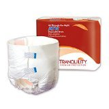 Tranquility ATN™ (All-Through-the-Night) Adult Disposable Briefs by Principle Business Enterprises