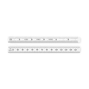 "Starrett C334-150 2-Sided 6"" Steel Ruler"