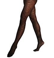 Autograph Stencil Floral Lace Sheer Tights