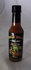 Howlin Hollar Hot Sauce With Pumpkin 5 Oz by Sizzlin' Sauces