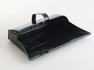 Home Y19001 Metal Dustpan Black 14In