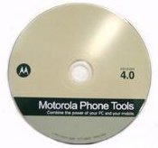 Motorola Phone Tools 4.0 Software CD (no Cables