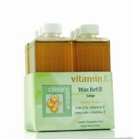 Clean & Easy Vitamin E Wax Refill Large (6) CL350