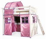 Lea The Getaway Twin Loft Bed with Tent