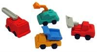 Construction Truck Erasers (1 dz)