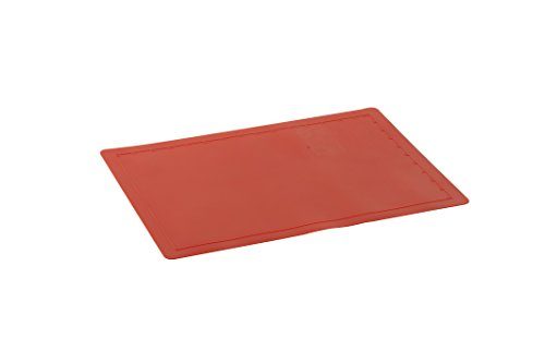Nordic Ware Silicone Baking Mat, 11.25 -Inch by 16.25 -Inch, Red (Nordic Ware Half Sheet Baking Pan compare prices)