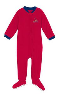 St Louis Cardinals Infant Footed Sleeper Pajamas - 18 Months at Amazon.com