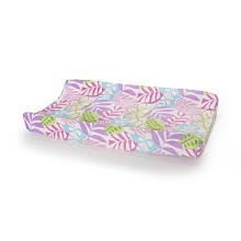 Tropical Garden Changing Pad Cover