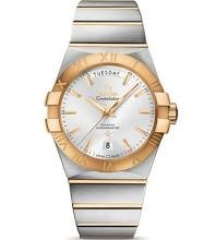 Omega Constellation Day Silver Dial Gold and Steel Mens Watch 12320382202002