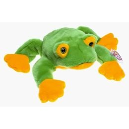 TY Beanie Babies Smoochy the Frog Stuffed Animal Plush Toy - 8 inches long