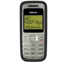 Nokia 1200 Black & metallic silver gold front panel - Genuine SIM Free (NOT ex-network)