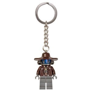 LEGO Star Wars Cad Bane Key Chain Clone Wars Minifigure 853127 - 1