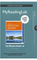 NEW MyReadingLab with Pearson eText -- Standalone Access Card -- for The Effective Reader (3rd Edition)