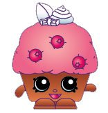 2014 SHOPKINS FIGURES - MINI MUFFIN #044 SEASON 1 - 1