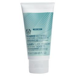The Body Shop Seaweed Mattifying Moisture Lotion SPF 15, 1.69-Fluid Ounce