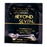 36 Beyond Seven Sheerlon Natural Rubber Latex Condoms, Extra Thin and Sensitive, Lightly Lubricated