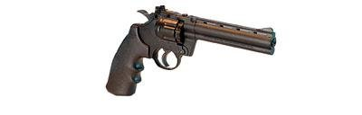 Crosman 3576 Semi-Auto CO2 Powered Pellet Revolver with 6-Inch Barrel