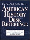 The New York Public Library American History Desk Reference (New York Public Library Series) (0028613228) by Frommer's