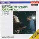 Maria João Pires ~ Mozart - The Complete Sonatas For Piano Vol. 4