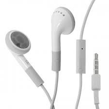 Relgard In-Ear Stereo Headphones With Remote And Mic For Iphone 4 4S 5