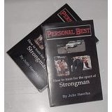Strongman Book 600 Pages Titled Personal Best Powerlifting, Strongman, Bodybuilding, Weight lifting