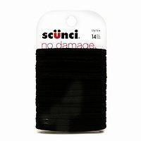 Scunci No Damage Elastics, Black
