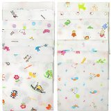 15 Pcs 100% Cotton Baby Handkerchief Gauze Muslin Square