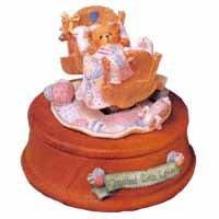 "Cherished Teddies ""Baby In Cradle""(Musical)--Brahms' Lullaby"