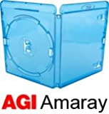 Amaray Lot de 25 boîtiers de Blu-Ray Dos 14 mm
