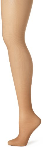 Hanes Women's Control Top Sheer Toe Silk Reflections Panty Hose, Barely There, E/F
