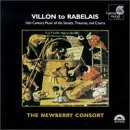 Villon To Rabelais 16th Centu