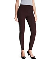 M&S Collection Faux Leather Panel Leggings