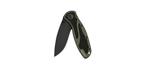 Kershaw 1670OLBLK Olive Drab/Black Blur Knife with SpeedSafe