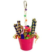 Cheap Aussie Bird Toys Bucket With Bells (B003PL4I54)