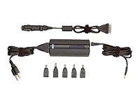 Targus Notebook / Laptop AC/DC Adapter - Power adapter - AC / car / airplane ( external ) - 70 Watt