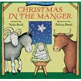 Christmas in the Manger: A Pat-and-Peek Book