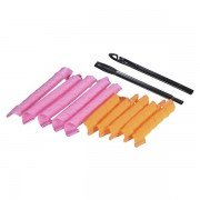 Hair Styling Rollers Curlers Curl formers Spiral Ringlets Makeup Salon Tool including 40Pcs