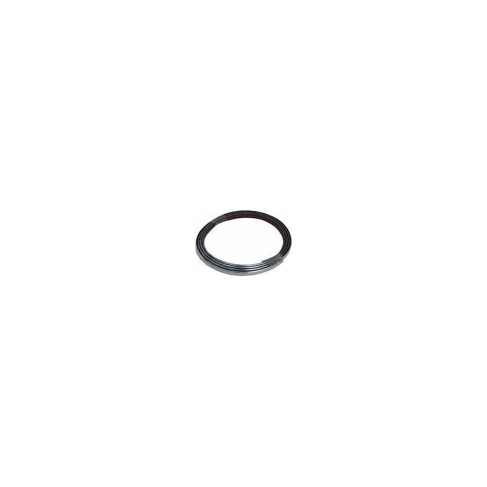 89 90 PONTIAC SUNBIRD FRONT BUMPER MOLDING, Chrome (1989 89 1990 90) 8484 22533837