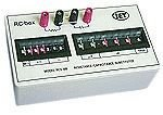 IET LABS RCS-500 DECADE BOX, 0-9999999 OHM / 0 uF-99.9999 uF