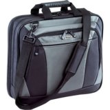 Targus Citylite Black Grey Nylon Notebook Case 16 Inch Ergonomic Comfort Travel Convenience