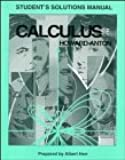 Calculus with Analytic Geometry: Student Solution Manual, 5th Edition