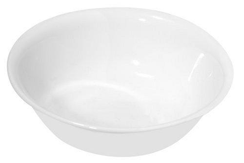 Corelle Livingware Soup/Cereal Bowl, Winter Frost White, 18-Ounce