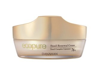 KOREAN COSMETICS, Danahan, Eco Pure Snail Renewal Cream 50ml (anti-wrinkle, whitening)[001KR]