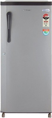 Kelvinator KS203ESG Direct-cool Single-door Refrigerator (190 Ltrs, 3 Star Rating, Grey)
